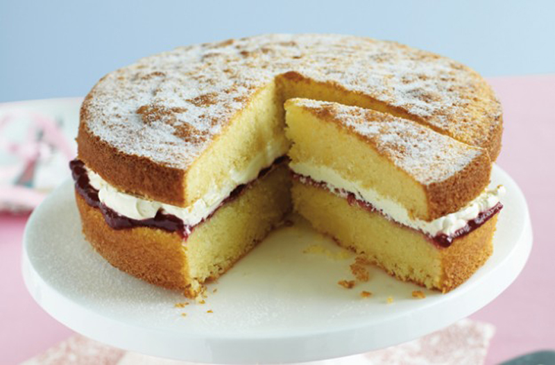How To Make Perfect Sponge Cake Recipe