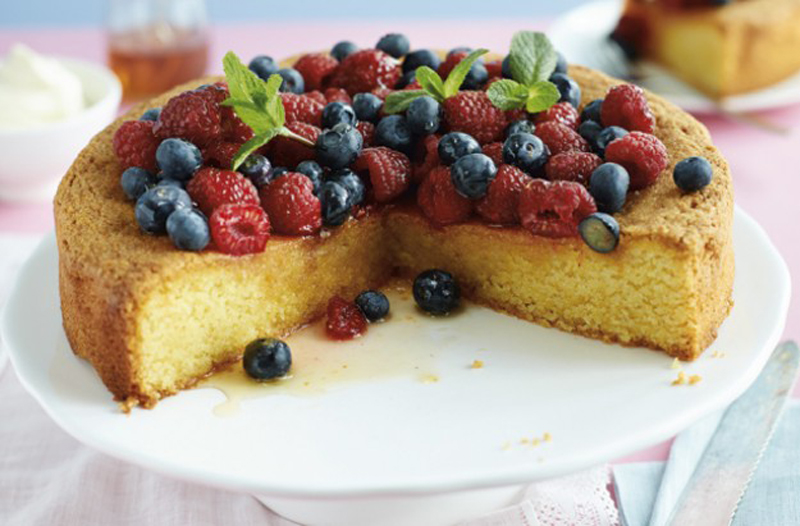 Weight Watchers Recipes Lemon Drizzle Cake: Gluten-Free Lemon Polenta Cake