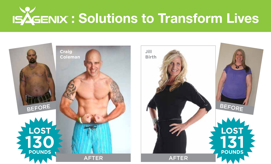 isagenix transformations