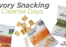 Isagenix Savory Snacking for Cleanse Days