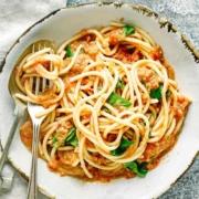 Healthy Gazpacho Sauce Spaghetti
