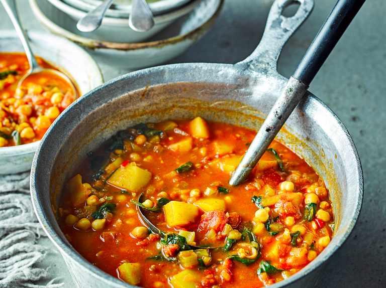 Moroccan veggie soup - Abundant Energy
